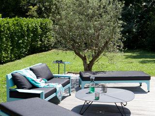 Mobilier outdoor Vue Jardin JardinMeubles Fer / Acier Multicolore