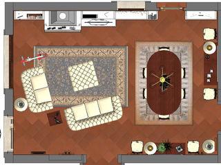 Living a Roma - Living room in Rome Planet G Soggiorno classico