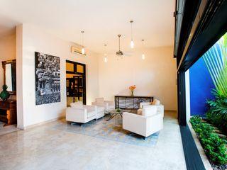 Taller Estilo Arquitectura Гостиная в стиле модерн Белый