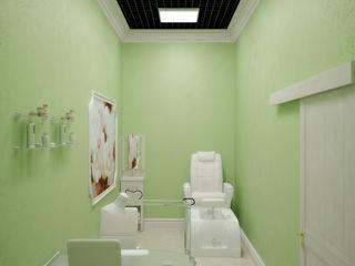 Симуков Святослав частный дизайнер интерьера Classic style study/office Green
