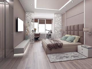 ООО 'Студио-ТА' Eclectic style bedroom