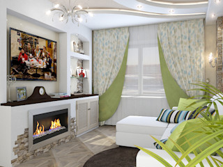 Design Rules Eclectic style living room