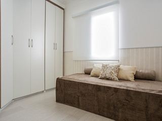 Amanda Pinheiro Design de interiores 모던스타일 침실