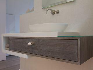 Bad Concept,Stylisch Ulrich holz -Baddesign Minimalistische Badezimmer Glas Beige