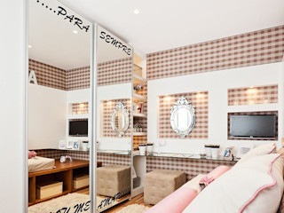 SESSO & DALANEZI Moderne Kinderzimmer Pink