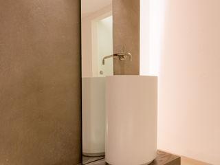Spa,New Style progressiv Ulrich holz -Baddesign Moderner Spa Fliesen Weiß