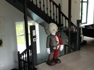The loft Frédéric TABARY Медіа-залЗберігання Метал Чорний