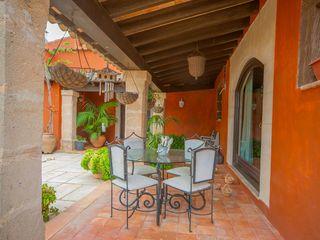 Villa S'Aranjassa Lola Balcones y terrazasDecoración y accesorios Hierro/Acero Beige