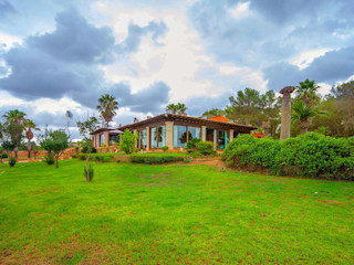 Villa S'Aranjassa Lola Jardines rurales Piedra Verde