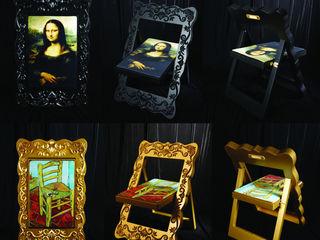 후스 디자인 Sala de estarIluminação