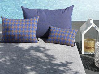 POEMO DESIGN Balcones y terrazasAccesorios y decoración Algodón Azul