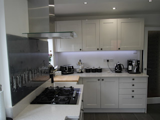 Schuller grey gloss, before and after AD3 Design Limited