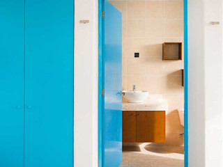 Arq Mobil Mediterrane Badezimmer Blau
