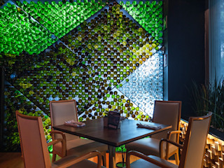 TENTER Arquitectura y Diseño Bars & clubs Wood effect
