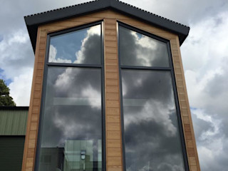 FOR SALE - Split Level Living Building With Frames Minimalist house Wood