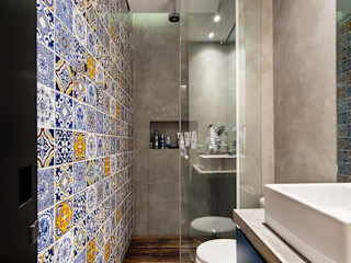 Casa100 Arquitetura Modern bathroom