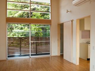 本間義章建築設計事務所 Ruang Keluarga Modern