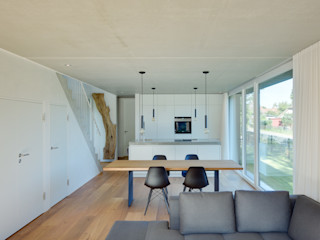 Möhring Architekten Modern living room