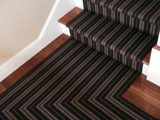Fleetwood Fox's Installation Shots Fleetwood Fox Ltd Classic style corridor, hallway and stairs Black