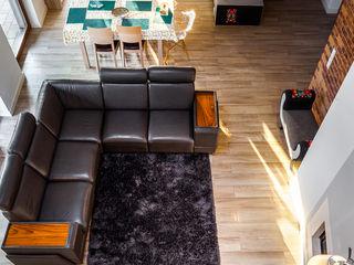 COCO Pracownia projektowania wnętrz Вітальня