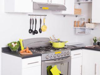 Idea Interior CocinaEstanterías y gavetas Blanco