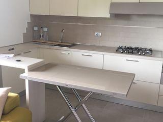 Arreda Progetta di Alice Bambini Moderne keukens Beige