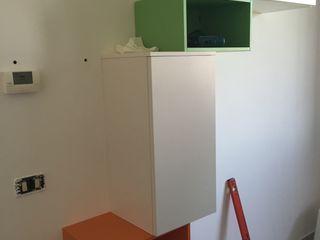 Arreda Progetta di Alice Bambini Moderne woonkamers Groen
