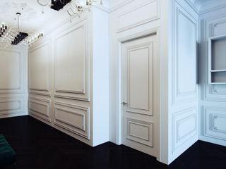 Dara Design Eclectic style corridor, hallway & stairs