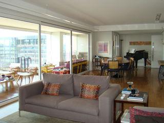 Luli Hamburger Arquitetura غرفة المعيشة