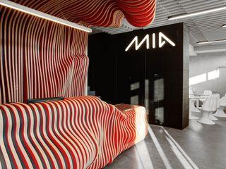 MG Interior Studio Michał Głuszak Edificios de oficinas de estilo moderno