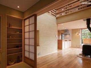 アグラ設計室一級建築士事務所 agra design room Eclectic style living room