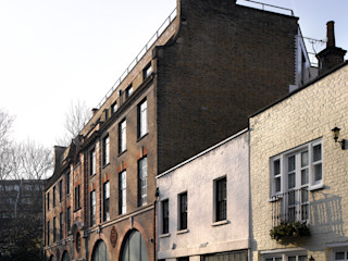 Brassworks Belsize Architects Industrial style houses
