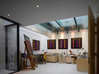 Park Village West Belsize Architects Modern style study/office