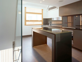 Park Square Mews Belsize Architects Modern style kitchen