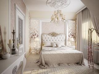Инна Михайская Classic style bedroom Beige