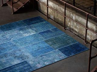 Zimmermanns Kreatives Wohnen Murs & SolsTapis Laine Bleu