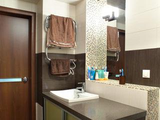 Двухуровневая квартира по ул.Карельская Галина Глебова Ванная комната в стиле минимализм