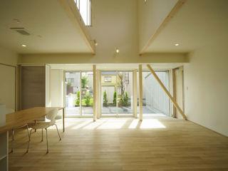 フクシアンドフクシ建築事務所 Living room