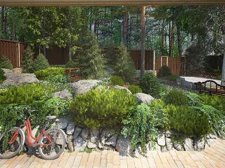 Мастерская ландшафта Дмитрия Бородавкина Jardines de estilo rural