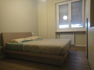 studionove architettura Mediterranean style bedroom Wood Beige