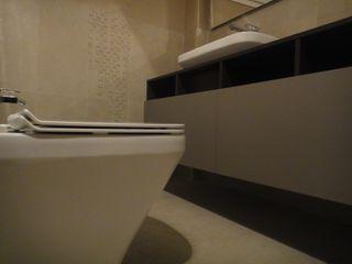studionove architettura Mediterranean style bathroom Ceramic Beige