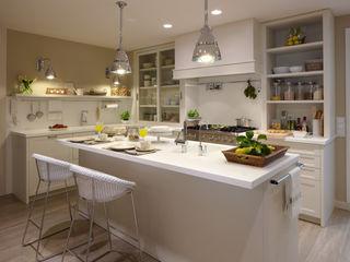 DEULONDER arquitectura domestica Ausgefallene Küchen Weiß