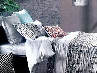 쉬즈가 غرفة نومأقمشة و منسوجات قطن Metallic/Silver