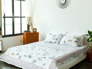 쉬즈가 غرفة نومأقمشة و منسوجات