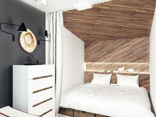 IK-architects Chambre minimaliste