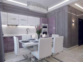 Volkovs studio Cocinas de estilo moderno