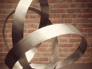 Esther Jonitz ArteEsculturas Hierro/Acero Metálico/Plateado