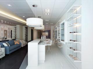 Ocean Eyes Optical KAPRANDESIGN Выставочные центры в стиле минимализм Стекло Прозрачный