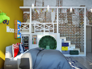 Sweet Home Design Modern nursery/kids room