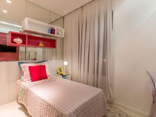 Flávio Monteiro Arquitetos Associados Moderne Kinderzimmer Pink